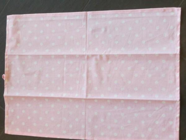 Geschirrhandtuch rosa mit weißen Punkten Krasilnikoff