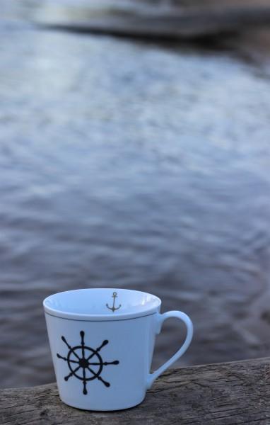 "Happy Cup Tasse ""Steuerrad"" 400ml, Krasilnikoff"