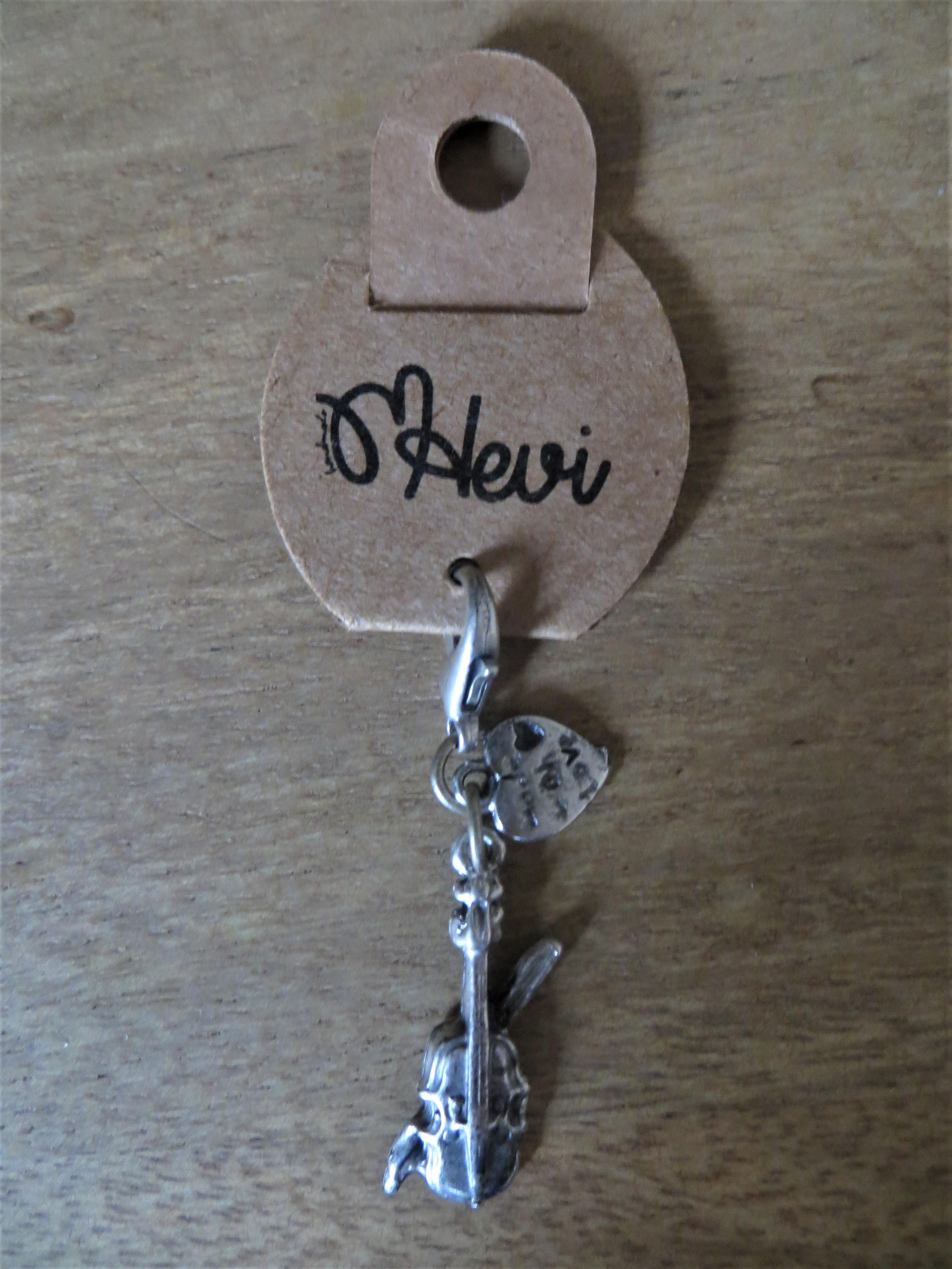 Schlüsselanhänger Geige 25 cm