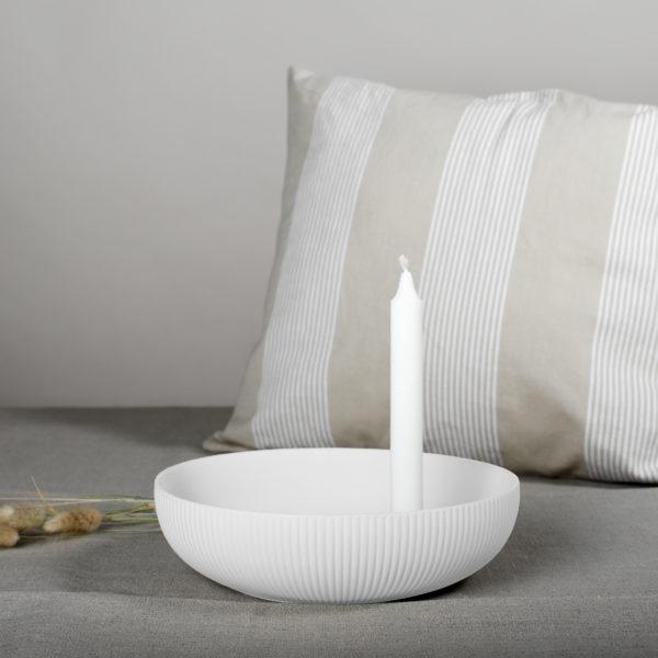 Nützlichdekoration - Limited Edition LIDATORP Kerzenhalter XL Weiß 26 cm Storefactory - Onlineshop Tante Emmer