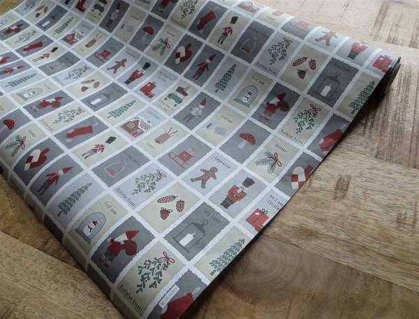 """Weihnachts-Geschenkpapier """"Weihnachts-Motive"""" Ib Laursen ApS"""