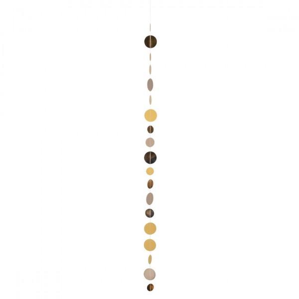 Kreiskette Goldregen 85 cm, räder
