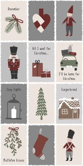 Servietten Nostalgic Christmas Ib Laursen