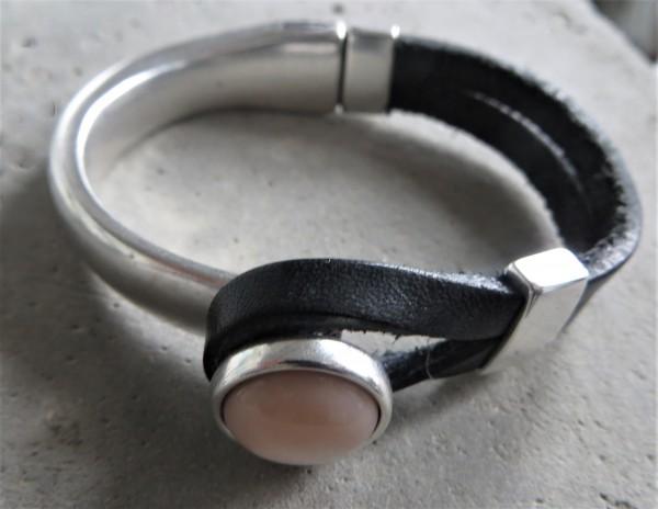 QOSS Armband GWEN schwarz-rosa S