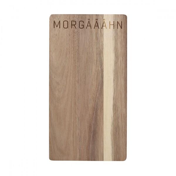 """Holz- Brettchen """"Morgääähn"""", räder"""