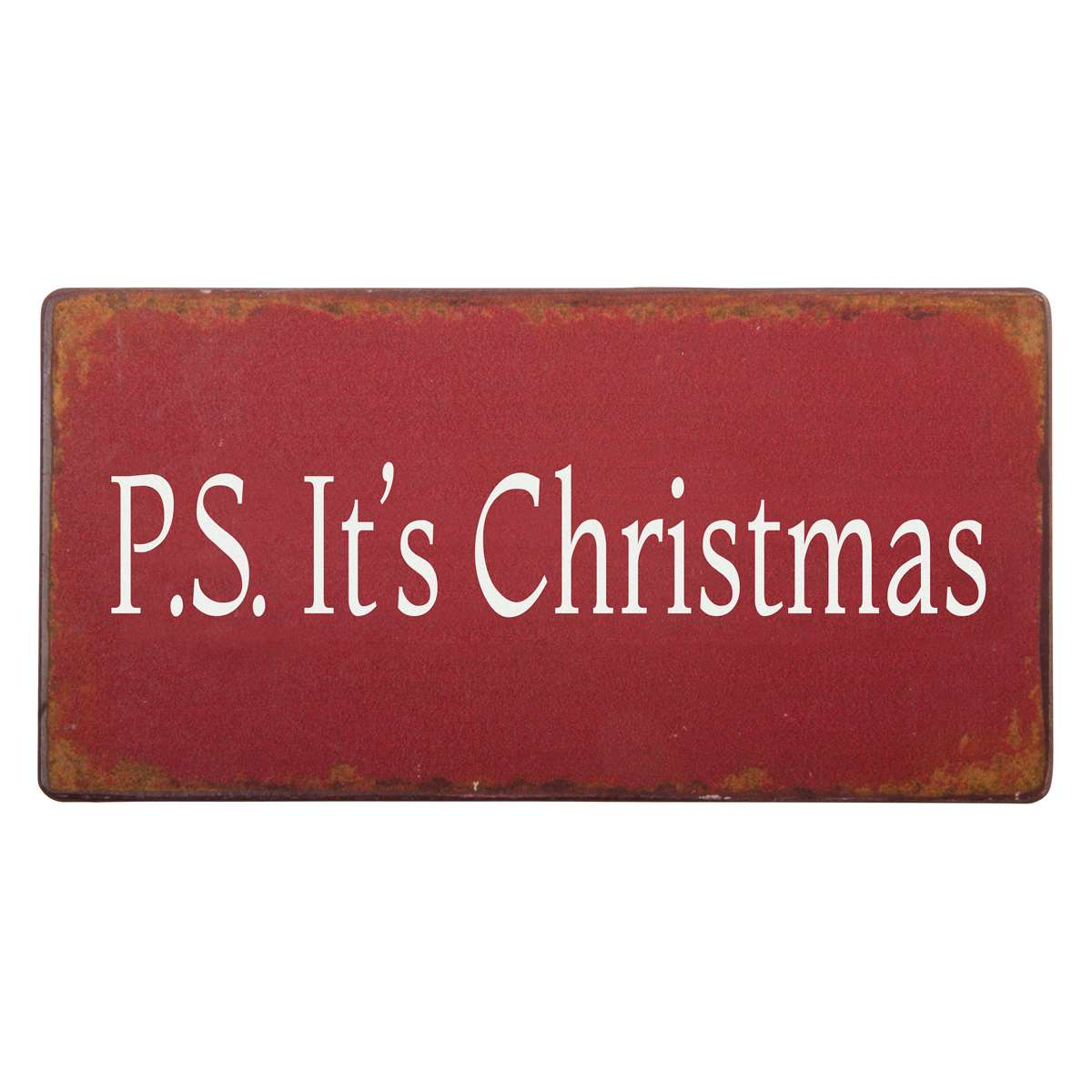 Witzigschilder - Magnet P.S. Its Christmas Ib Laursen Aps - Onlineshop Tante Emmer