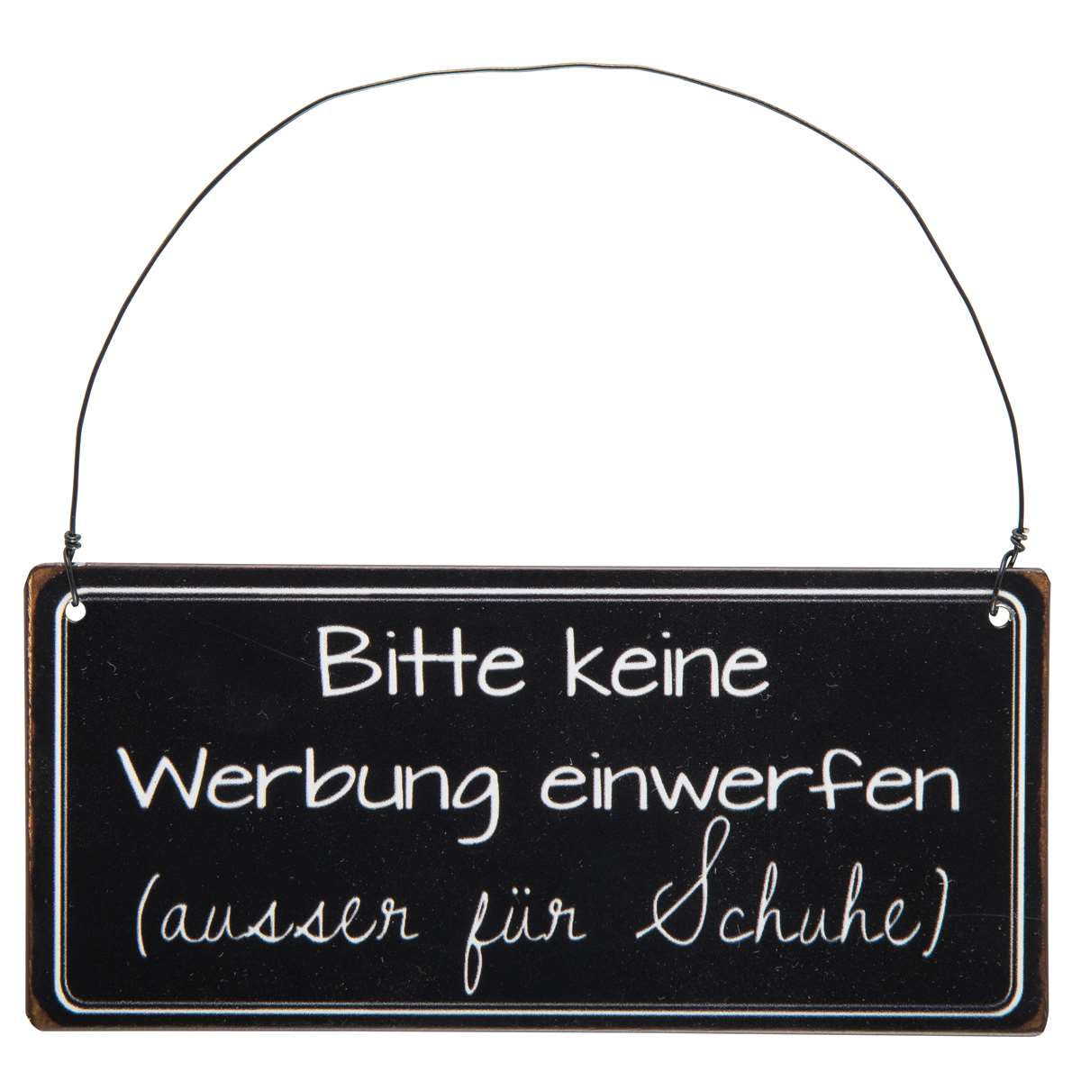schild als postkarte mit spruch du fette sau lustige. Black Bedroom Furniture Sets. Home Design Ideas