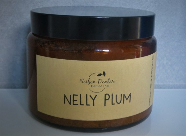 Duschzucker NELLY PLUM (Pflaume, Himbeere, Patchouli)