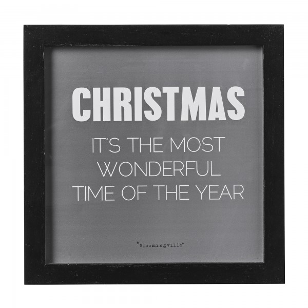"""Bild """"Christmas - It´s the most wonderful time of the year"""""""