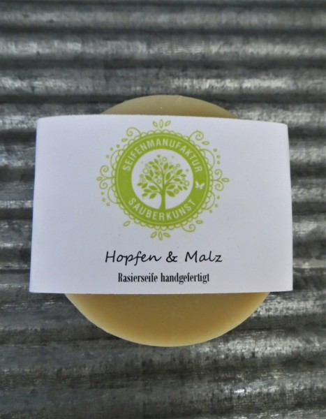 Rasierseife Hopfen&Malz 100 g
