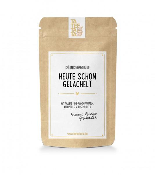"""25g-Tüte Kräuter-Tee """"Heute schon gelächelt"""" TaTeeTaTa"""