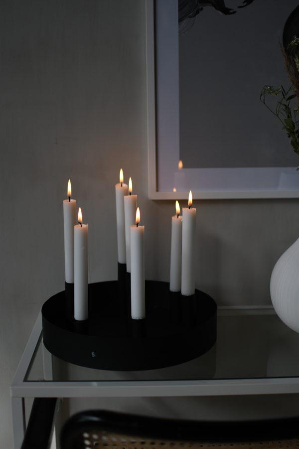 Nützlichdekoration - SUND Kerzenhalter Schwarz 31cm Storefactory - Onlineshop Tante Emmer