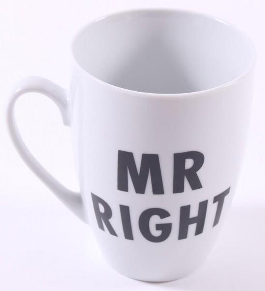 Cup Kaffeebecher Mr Right