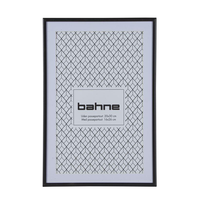 Nützlichwohnaccessoires - schwarzer Bilderrahmen 20 x 30 cm bahne co - Onlineshop Tante Emmer
