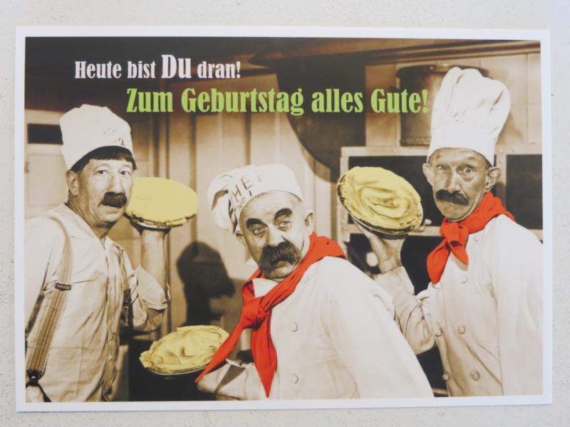 - Postkarte KarteHeute bist Du dran Zum Geburtstag alles Gute Paloma - Onlineshop Tante Emmer