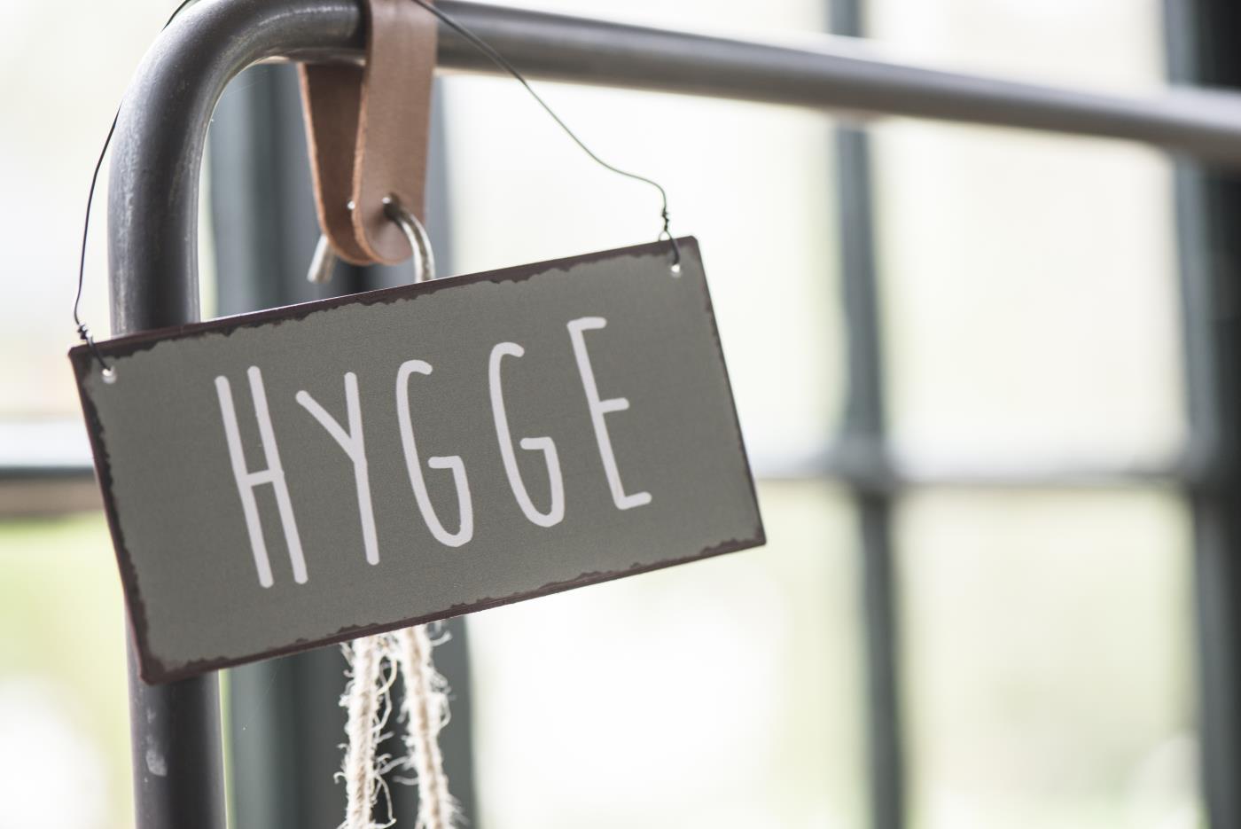 Schild HYGGE