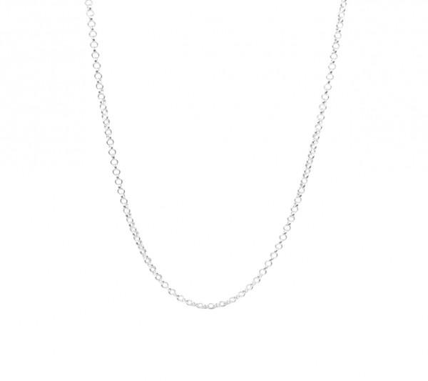 MAS jewelz Kette/ Halskette Silber 80-90cm