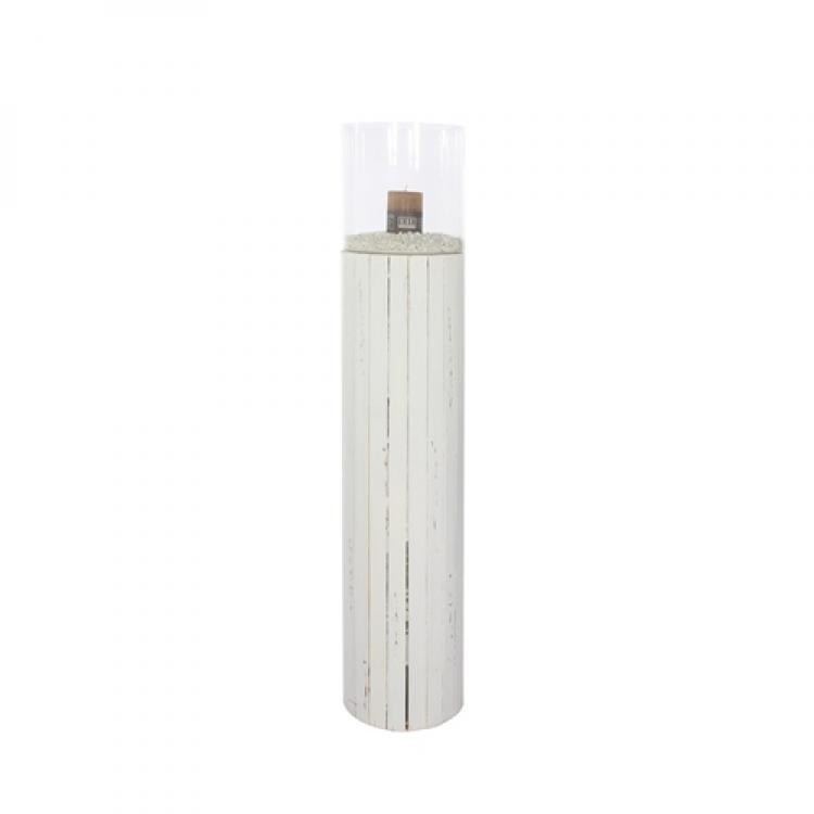 Kerzenglas Windlicht Kerzensäule Größe L