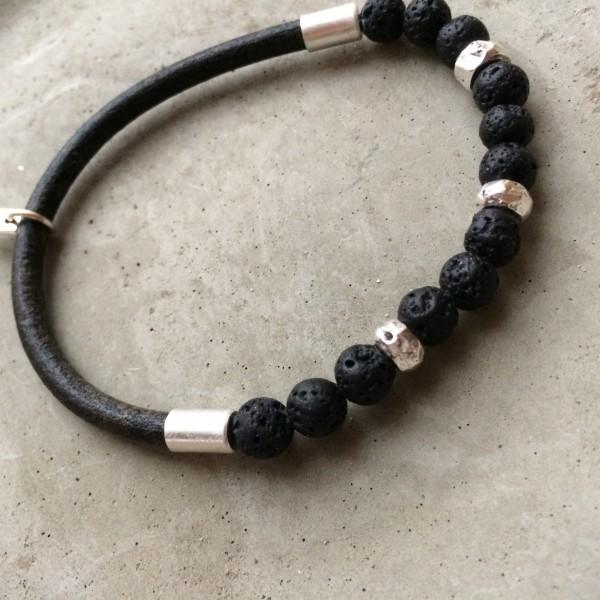QOSS Armband TARA schwarz-lava L