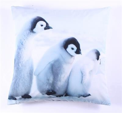 """Kissen mit Inlet """"Pinguine"""""""