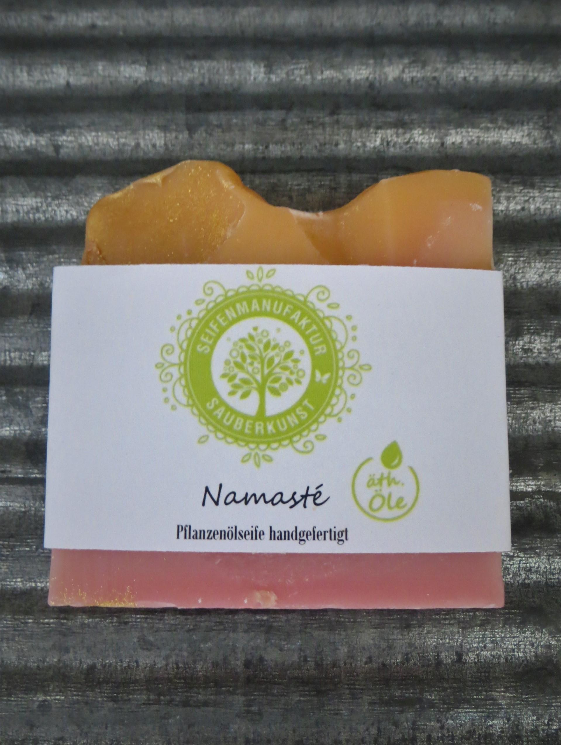 Nützlichwellness - Pflanzenölseife Namasté 100 g SauberKunst - Onlineshop Tante Emmer