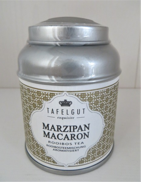 MARZIPAN MACARON ROOIBOS TEA (Golden Moments Blends) Rooibosteemischung Rooibos Tee