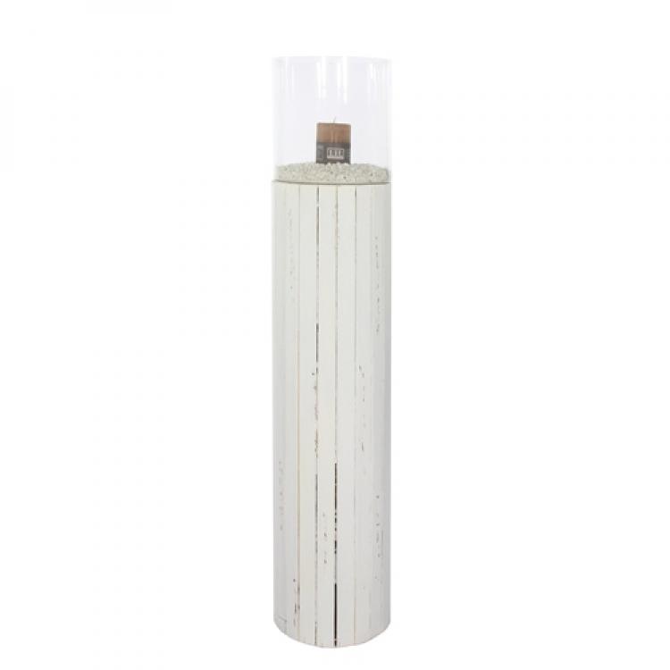 Kerzenglas Windlicht Kerzensäule Größe S