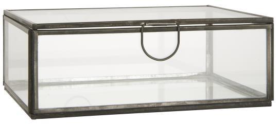 Treibhaus Glasbox mit Deckel IbLaursen ApS