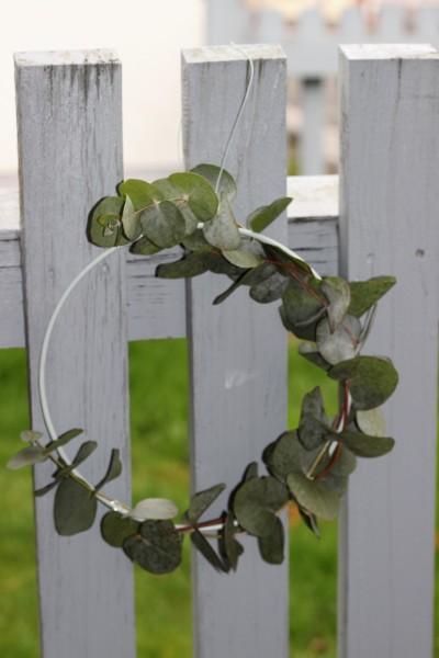 Metall-Kranz/ Deko-Ring Zink, 16cm