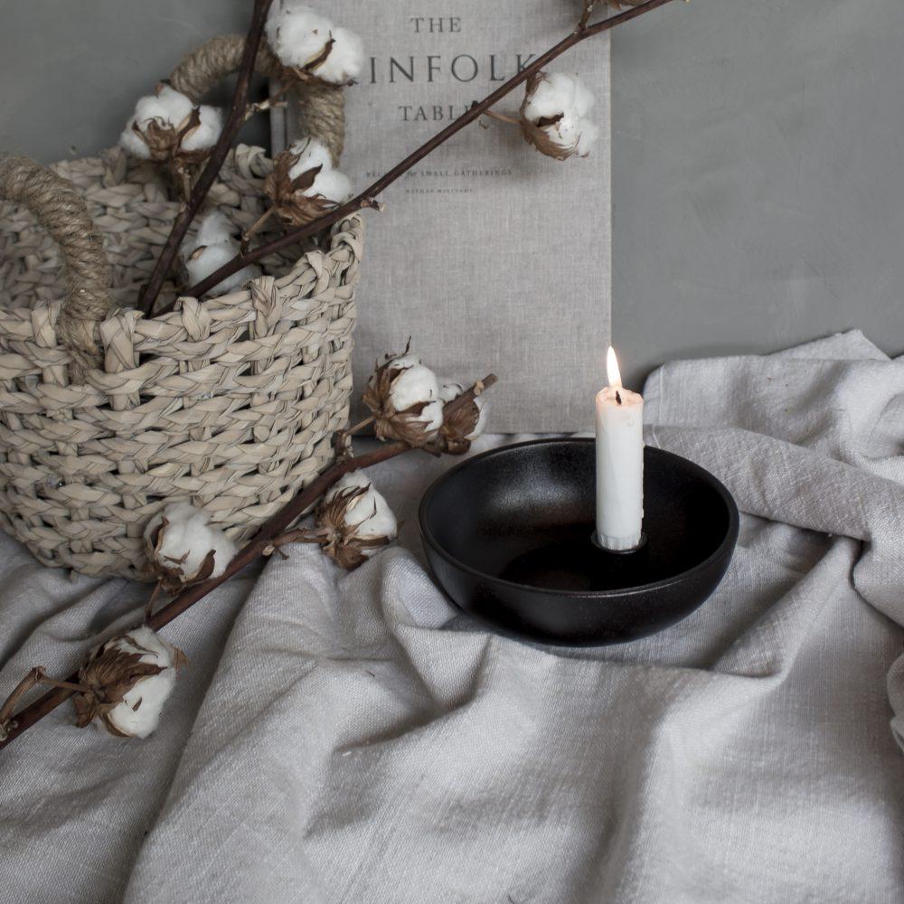 Nützlichdekoration - LIDATORP Kerzenhalter glänzend Schwarz S 16 cm Storefactory - Onlineshop Tante Emmer