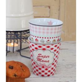Mug Kaffeebecher Super Mama