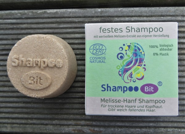 """ShampooBit """"Melisse-Hanf"""", Rosenrot"""