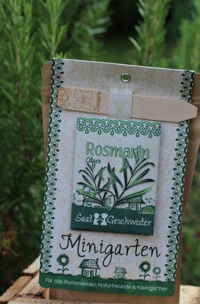 "Mini-Garten ""Rosmarin"", Rosmarinus officinalis"