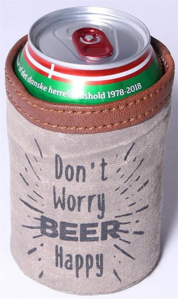 "Dosenhalter ""Don´t worry, beer happy"" La Fiinesse"