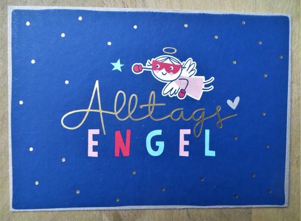 "Postkarte ""AlltagsENGEL"" KUNST und BILD"