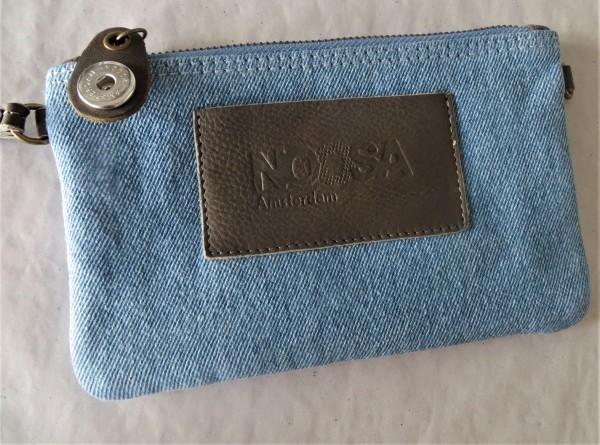 NOOSA Handtasche INDIGO DENIM Minibag ligt denim