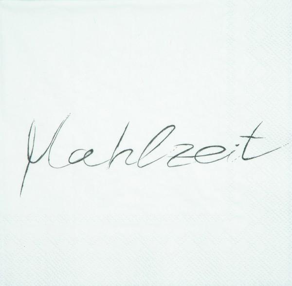 """Servietten """"Mahlzeit"""", 33 cm, räder"""