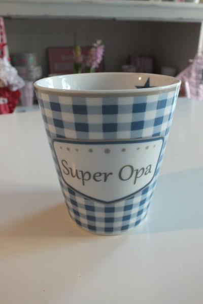 Nützlichküchenaccessoires - Mug Kaffeebecher Super Opa - Onlineshop Tante Emmer