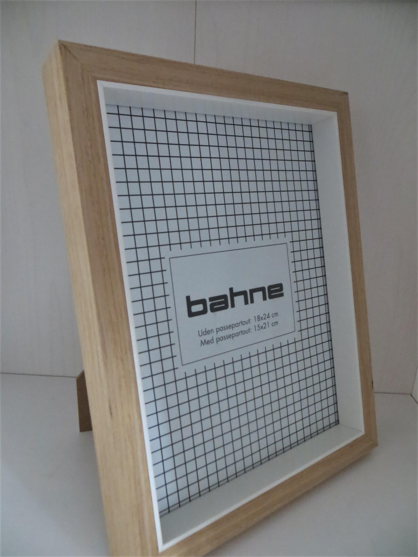 Nützlichwohnaccessoires - Bilderrahmen Holzweiß 18 x 24 cm 15x21cm - Onlineshop Tante Emmer