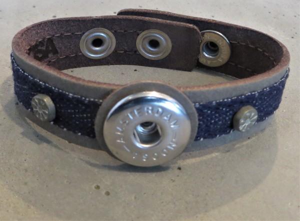 NOOSA Armband INDIGO Jeans grey/ denim, S