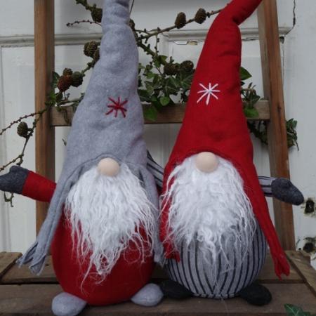 Wichtel mit Zipfelmütze rot Norm Advent und Weihnachten MADLEYS