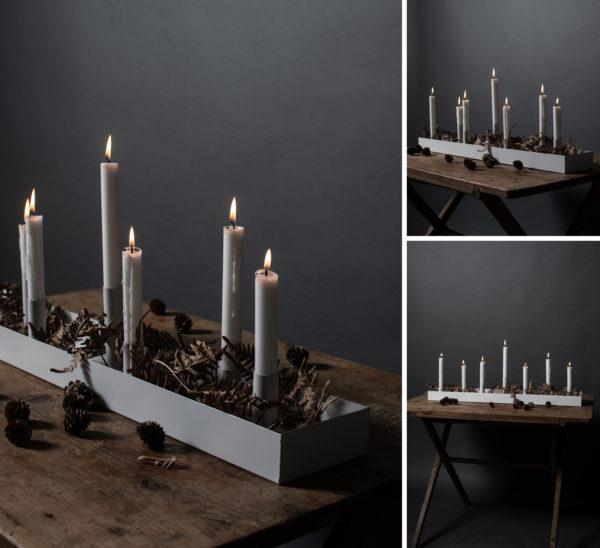 Nützlichdekoration - SUND Kerzenhalter Weiß 80cm Storefactory - Onlineshop Tante Emmer