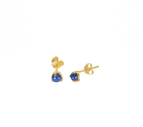 MAS jewelz Ohrstecker Lapis Lazuli / Gold