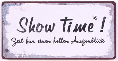 """Magnet """"Show Time- Zeit für einen hellen Augenblick"""""""