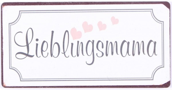 "Magnet ""Lieblingsmama"""