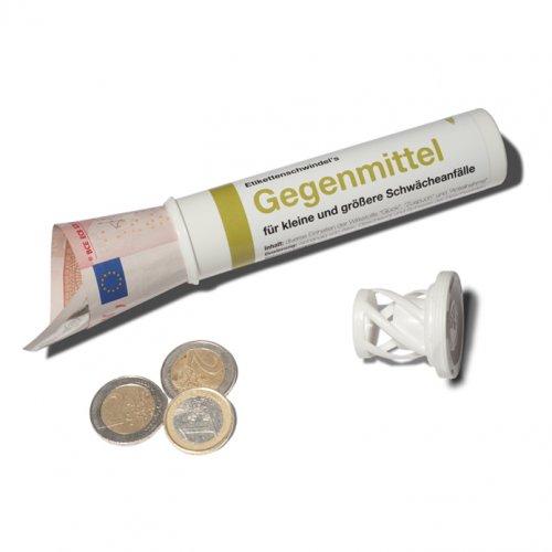 Witzigspassgeschenke - Geld und Geschenkröhrchen Gegenmittel - Onlineshop Tante Emmer