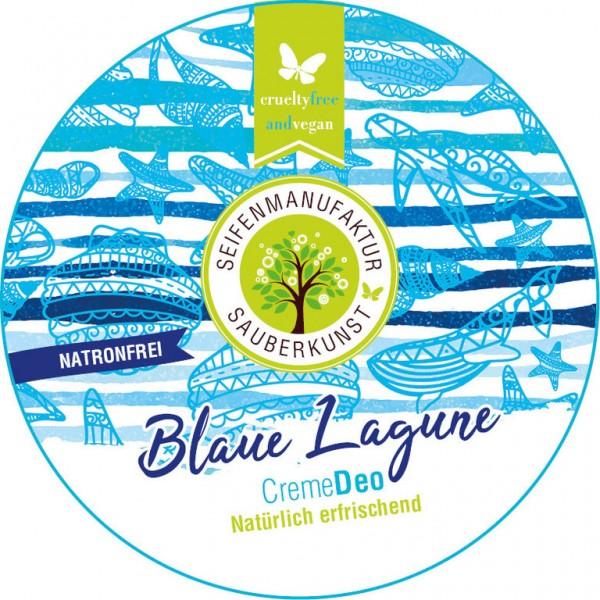 Creme Deo Blaue Lagune, 50 ml, SauberKunst