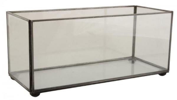 Aquarium mit Glasseiten und Metallhenkel Ib Laursen ApS
