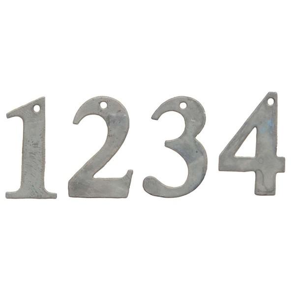 Zahlen 1 - 4 für Kerzen / Adventskrans Metall Ib Laursen ApS