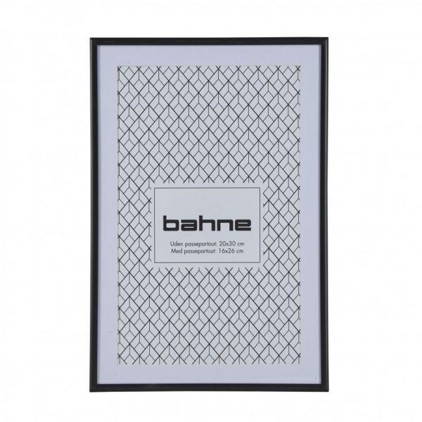 schwarzer Bilderrahmen 20 x 30 cm bahne&co